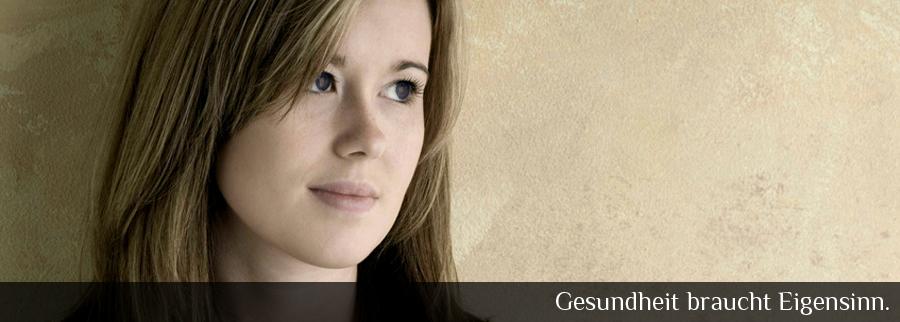 """Gesundheit braucht Eigensinn"""", lautet das Motto in der Mädchensprechstunde in der Homöopathischen Praxis Sabrina Altmaier."""